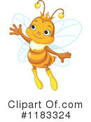 Bee Clipart #1183324 by Pushkin