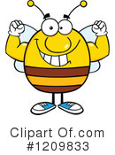 Bee Clipart #1209833 by Hit Toon