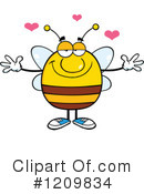 Bee Clipart #1209834 by Hit Toon
