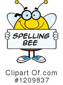 Bee Clipart #1209837 by Hit Toon