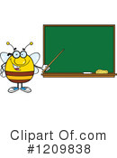 Bee Clipart #1209838 by Hit Toon