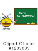 Bee Clipart #1209839 by Hit Toon