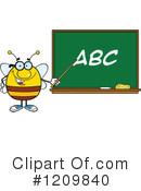 Bee Clipart #1209840 by Hit Toon
