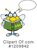 Bee Clipart #1209842 by Hit Toon