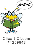 Bee Clipart #1209843 by Hit Toon