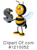 Bee Clipart #1210052 by Julos
