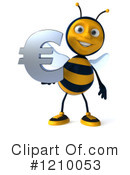 Bee Clipart #1210053 by Julos