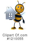 Bee Clipart #1210055 by Julos