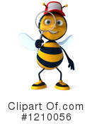 Bee Clipart #1210056 by Julos