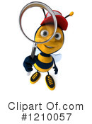Bee Clipart #1210057 by Julos