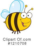 Bee Clipart #1210708 by Hit Toon