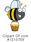 Bee Clipart #1210709 by Hit Toon