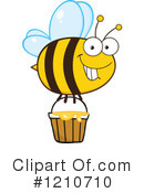 Bee Clipart #1210710 by Hit Toon