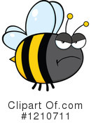 Bee Clipart #1210711 by Hit Toon