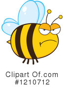 Bee Clipart #1210712 by Hit Toon