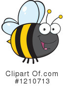 Bee Clipart #1210713 by Hit Toon