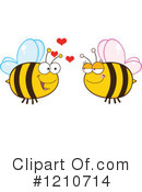 Bee Clipart #1210714 by Hit Toon