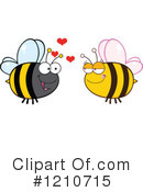 Bee Clipart #1210715 by Hit Toon