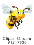 Bee Clipart #1217830 by AtStockIllustration