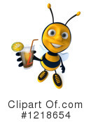 Bee Clipart #1218654 by Julos