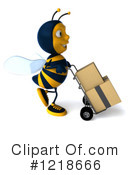 Bee Clipart #1218666 by Julos