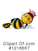 Bee Clipart #1218667 by Julos