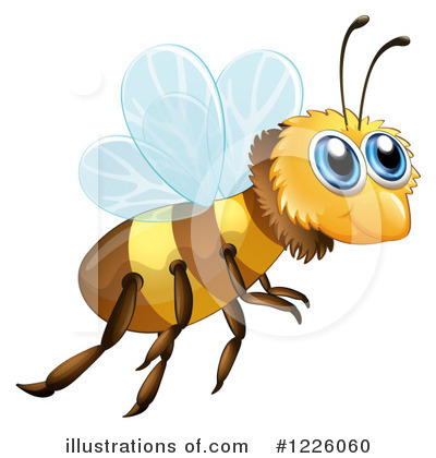 Bee Clipart #1226060 by Graphics RF