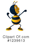 Bee Clipart #1239613 by Julos