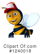 Bee Clipart #1240018 by Julos