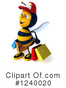 Bee Clipart #1240020 by Julos