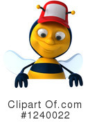 Bee Clipart #1240022 by Julos