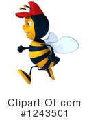 Bee Clipart #1243501 by Julos
