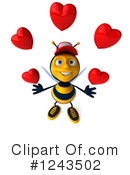 Bee Clipart #1243502 by Julos