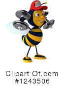 Bee Clipart #1243506 by Julos