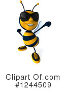 Bee Clipart #1244509 by Julos
