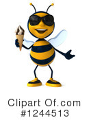 Bee Clipart #1244513 by Julos