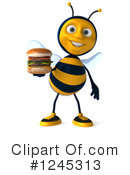 Bee Clipart #1245313 by Julos