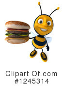 Bee Clipart #1245314 by Julos