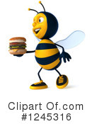Bee Clipart #1245316 by Julos