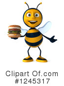 Bee Clipart #1245317 by Julos