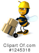 Bee Clipart #1245318 by Julos