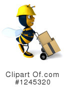 Bee Clipart #1245320 by Julos