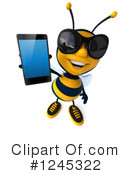 Bee Clipart #1245322 by Julos