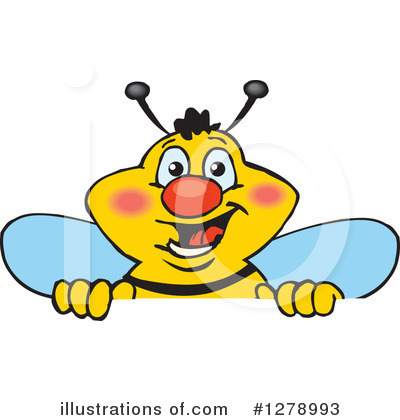 Bee Clipart #1278993 by Dennis Holmes Designs