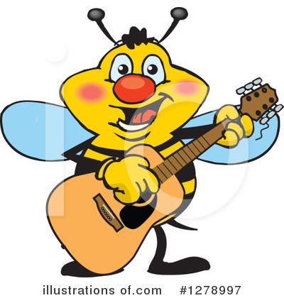 Bee Clipart #1278997 by Dennis Holmes Designs