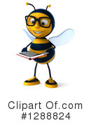 Bee Clipart #1288824 by Julos