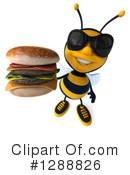 Bee Clipart #1288826 by Julos