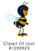 Bee Clipart #1288829 by Julos
