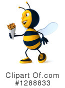 Bee Clipart #1288833 by Julos