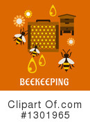 Bee Clipart #1301965 by Vector Tradition SM